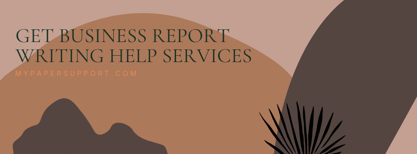 Business Report Writing Help Services