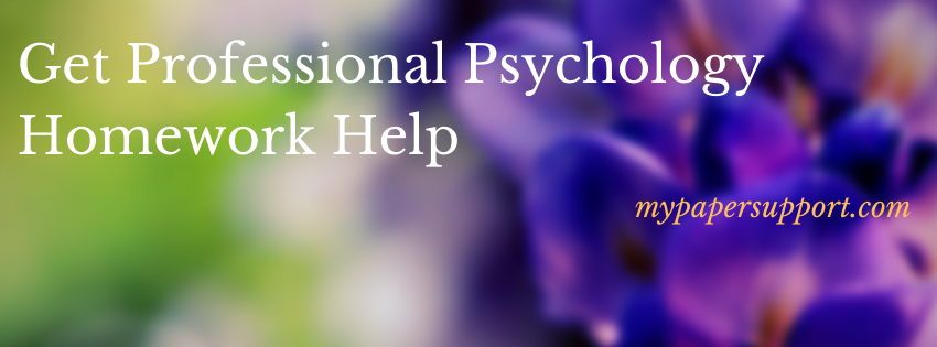 Cheap Psychology Homework Writing Help Online